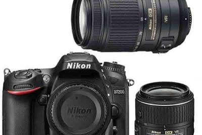 Nikon D7200 Dslr Camera 2 Lens Bundle