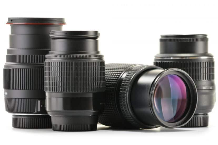 Different Types Of Camera Lenses