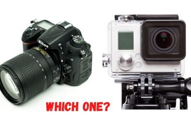 GoPro vs DSLR
